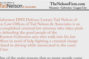 Galveston Lawyer Review: The Nelson Firm