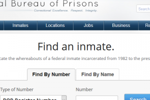 Looking for Someone in Federal Prison?